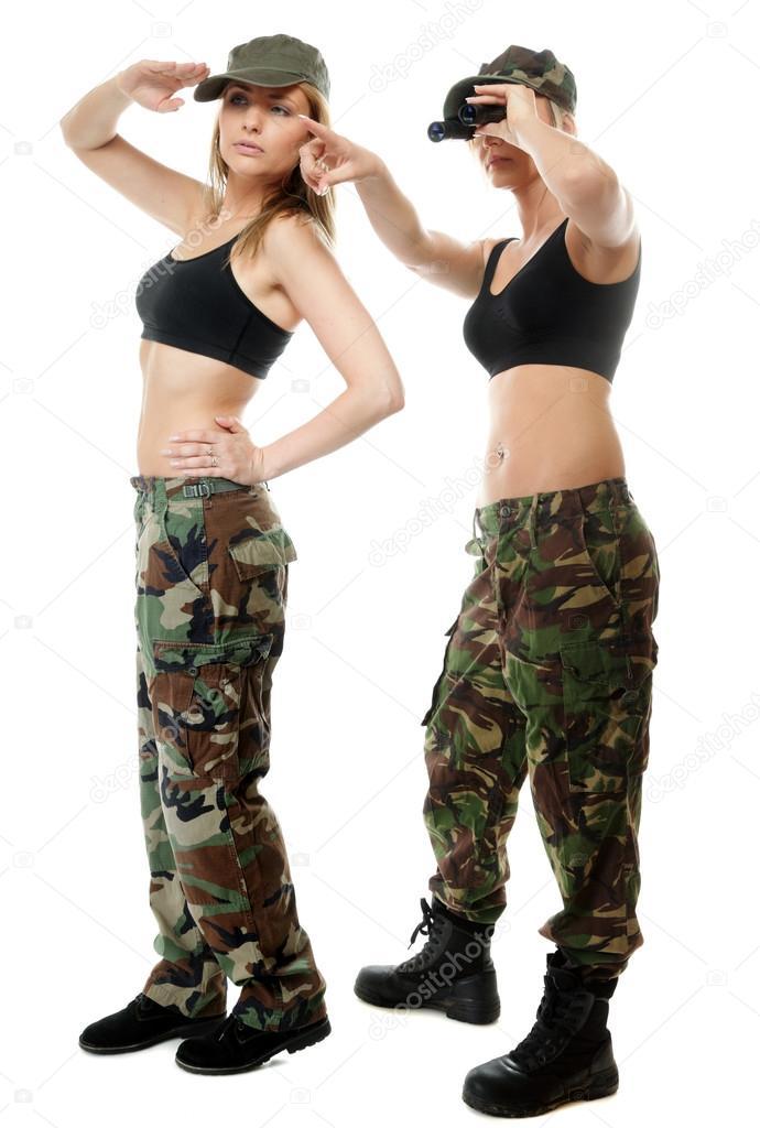 Девушки в армейской одежде, порно измены жен рогоносцы