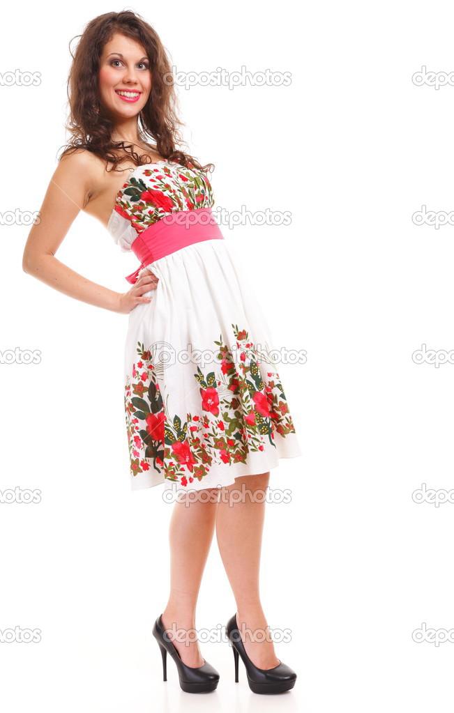 Vestidos de verano en blanco