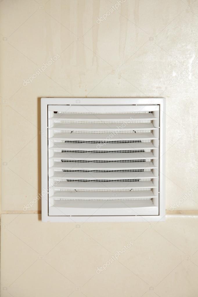 Rejilla de ventilaci n vent ba o blanco foto de stock - Rejilla ventilacion bano ...