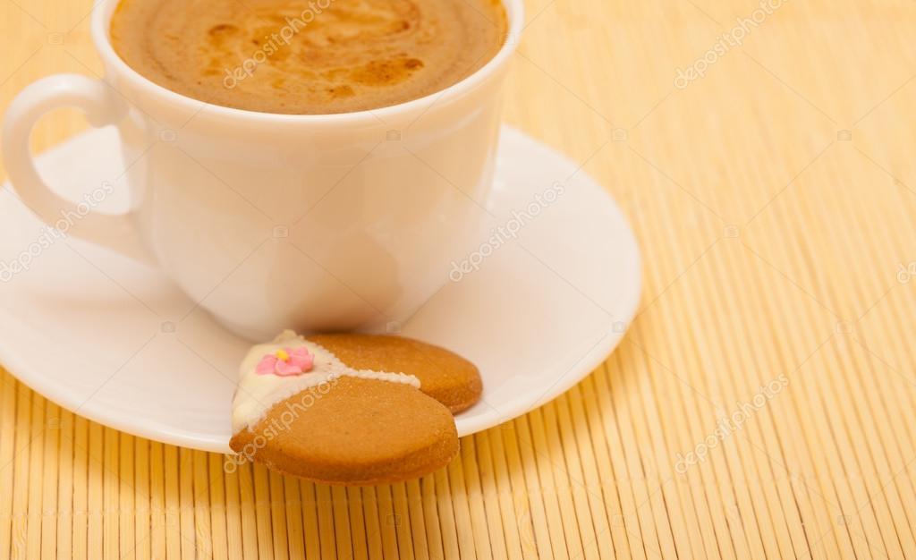 Tasse Kaffee Unterwasche Hoschen Lebkuchen Kuchen Cookies