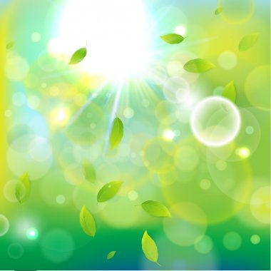 Light background-green b