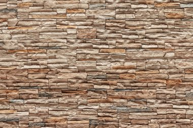Brown Bricks wall, Natural color