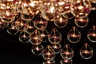 Lighting Bulb Decor, Close up