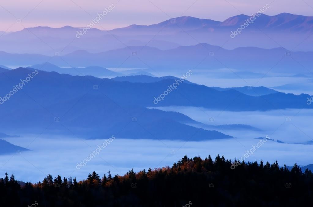 Dawn, Great Smoky Mountains