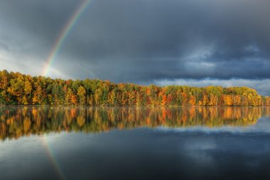 Autumn Rainbow, Moccasin Lake