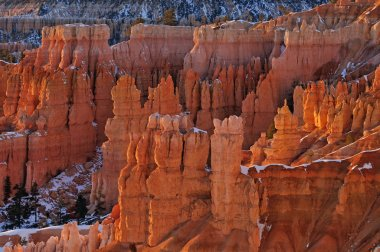 Winter, Bryce Canyon National Park
