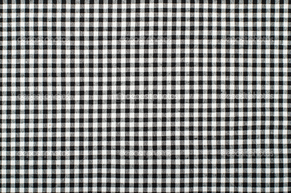 Lovely Symmetric Square Check Tablecloth Pattern. Black And White Little Square  Design As Background. U2014