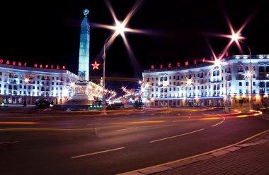 Night Minsk, Belarus