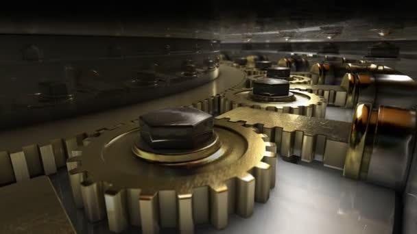 mechanismus dveří trezoru