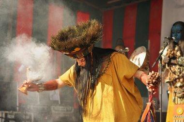 Meksikalı grup pueblo maya de xcaret