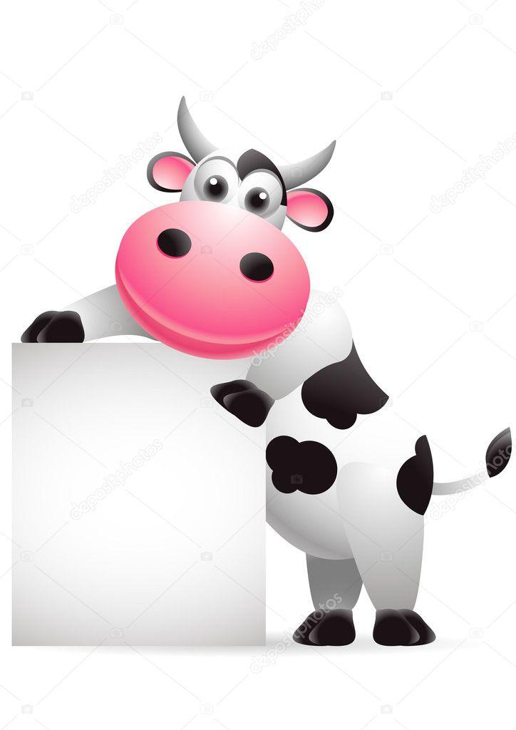ᐈ Vacas Animadas Tiernas Imágenes De Stock Dibujos Vacas