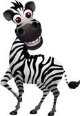 Photo Funny zebra cartoon
