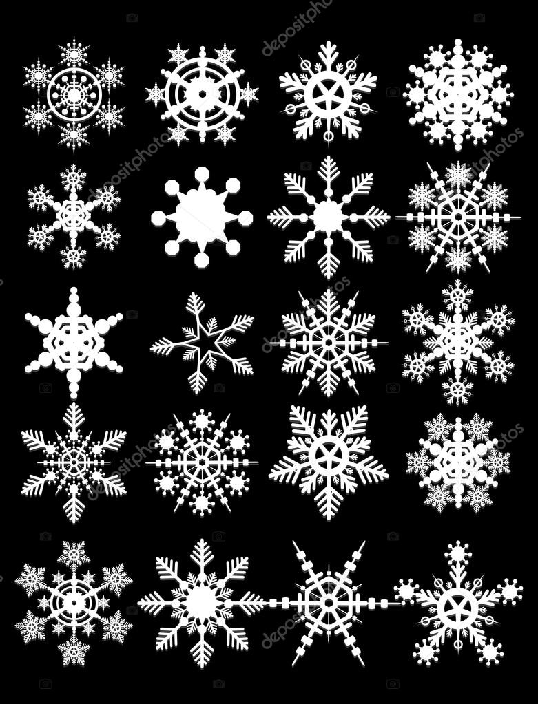 Snowflake Vectors collection