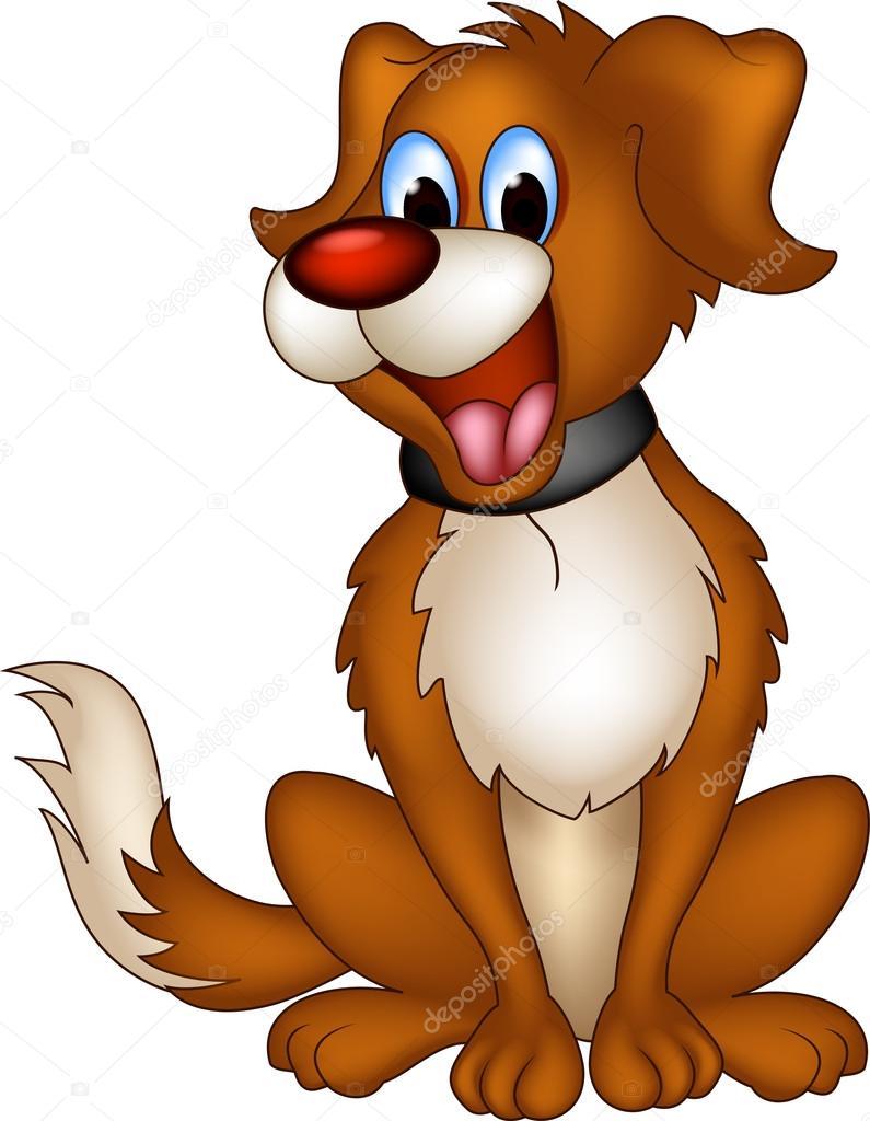 Sevimli Köpek çizgi Film Stok Vektör Starlight789 20793509