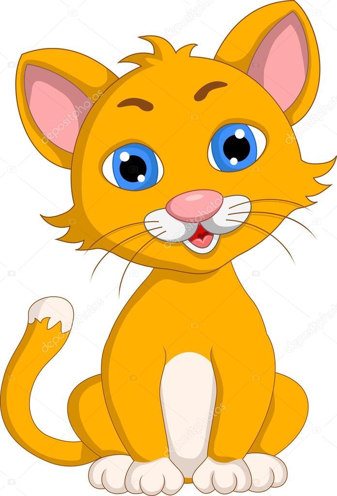 gatto cartone animato