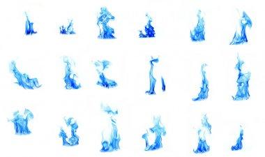 Blue flame compilation