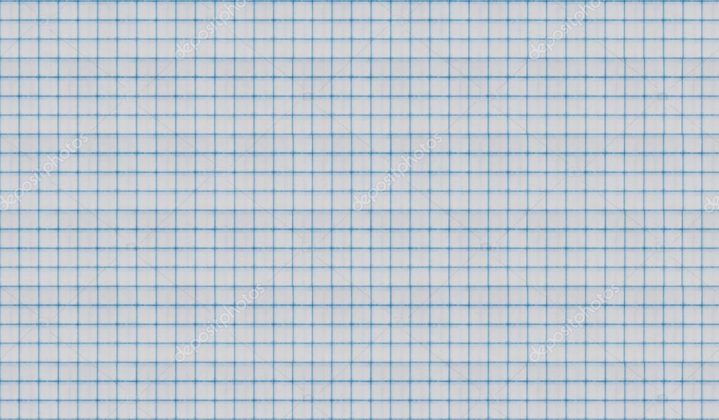 White squared paper sheet texture or background — Stock Photo ...