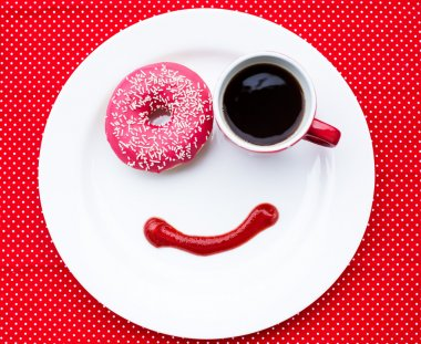 Breakfast with smile