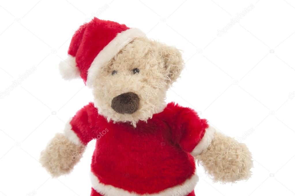 Teddy Weihnachten.Weihnachten Teddy Bear Stockfoto Aldegonde 15321925