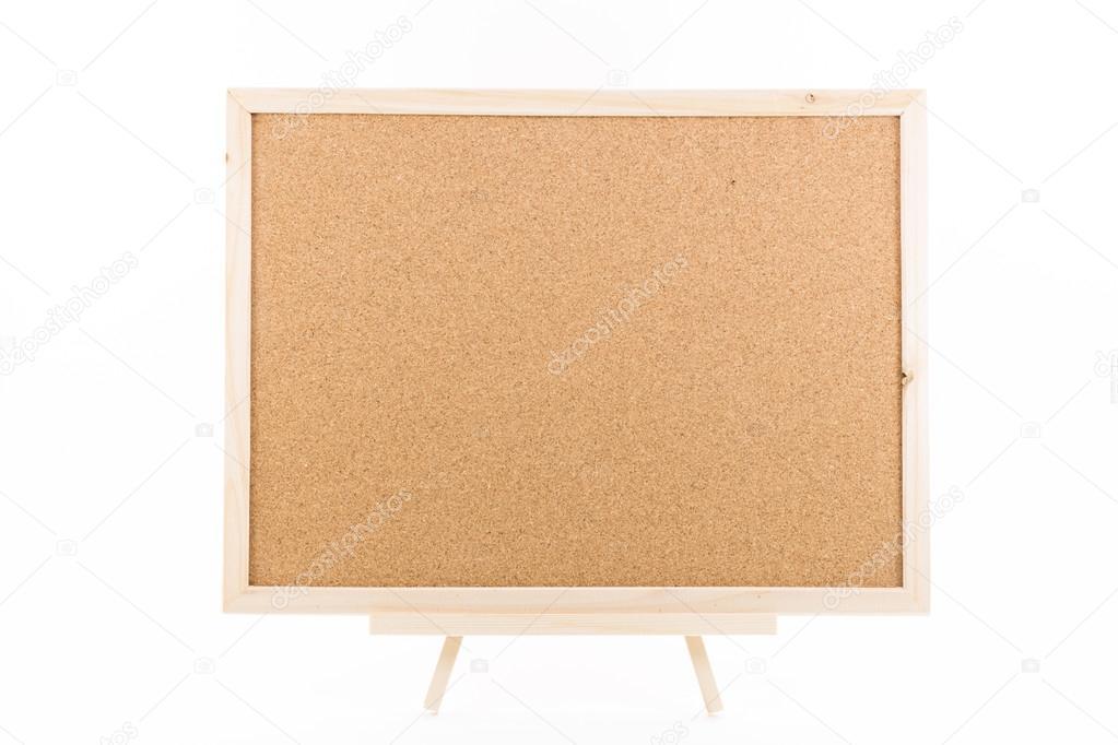 Kork-Board mit Holzrahmen — Stockfoto © littlestocker #12586713