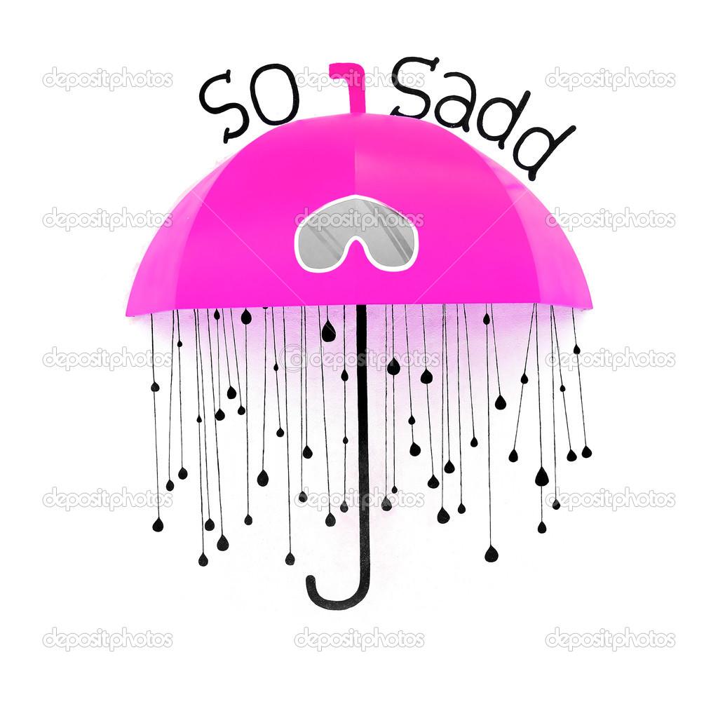 Pink Umbrella Clip Art
