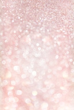 Pink abstract glitter bokeh lights.