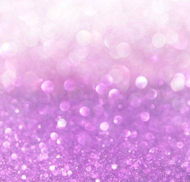 White silver and purple abstract bokeh lights. defocused background