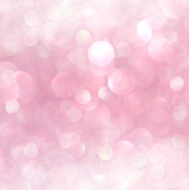 White and pink abstract bokeh lights. defocused background