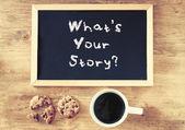 Co je váš příběh
