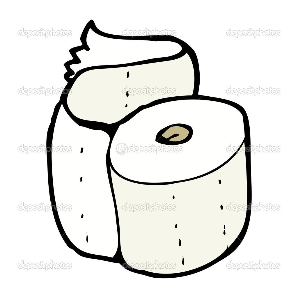 rouleau de papier toilette de dessin anim image vectorielle lineartestpilot 13570082. Black Bedroom Furniture Sets. Home Design Ideas