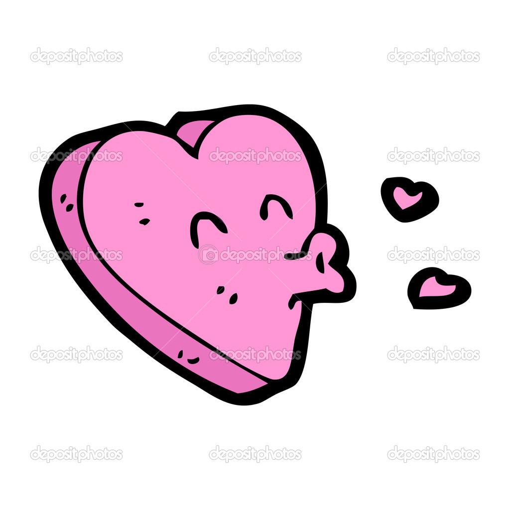 Funny Valentine Herz Zeichen — Stockvektor © lineartestpilot #13572548