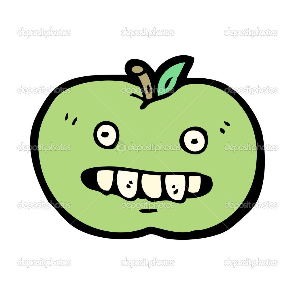 Dibujos Manzanas Podridas Dibujos Animados De La Manzana Podrida