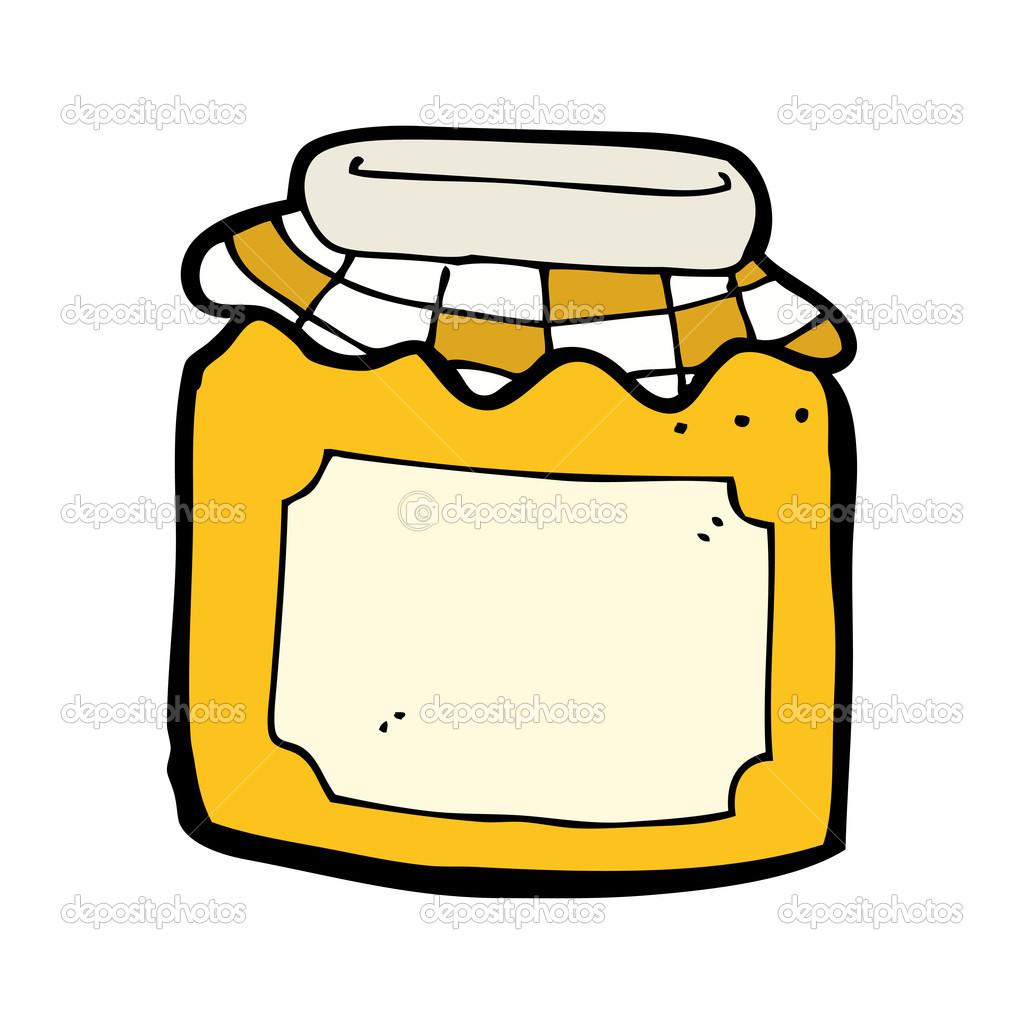 pot de confiture de dessin anim 233 image vectorielle 13574296