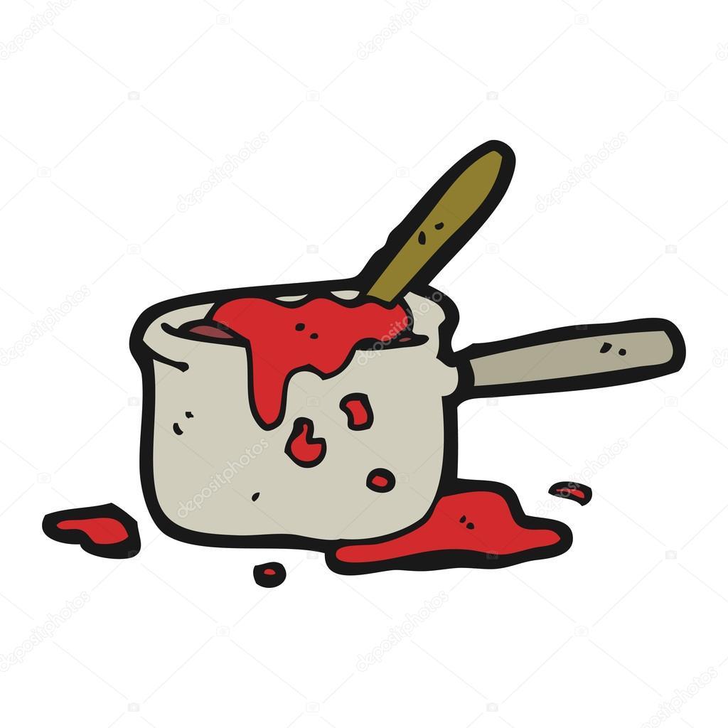 Messy Kitchen Cartoon: Stock Vector © Lineartestpilot