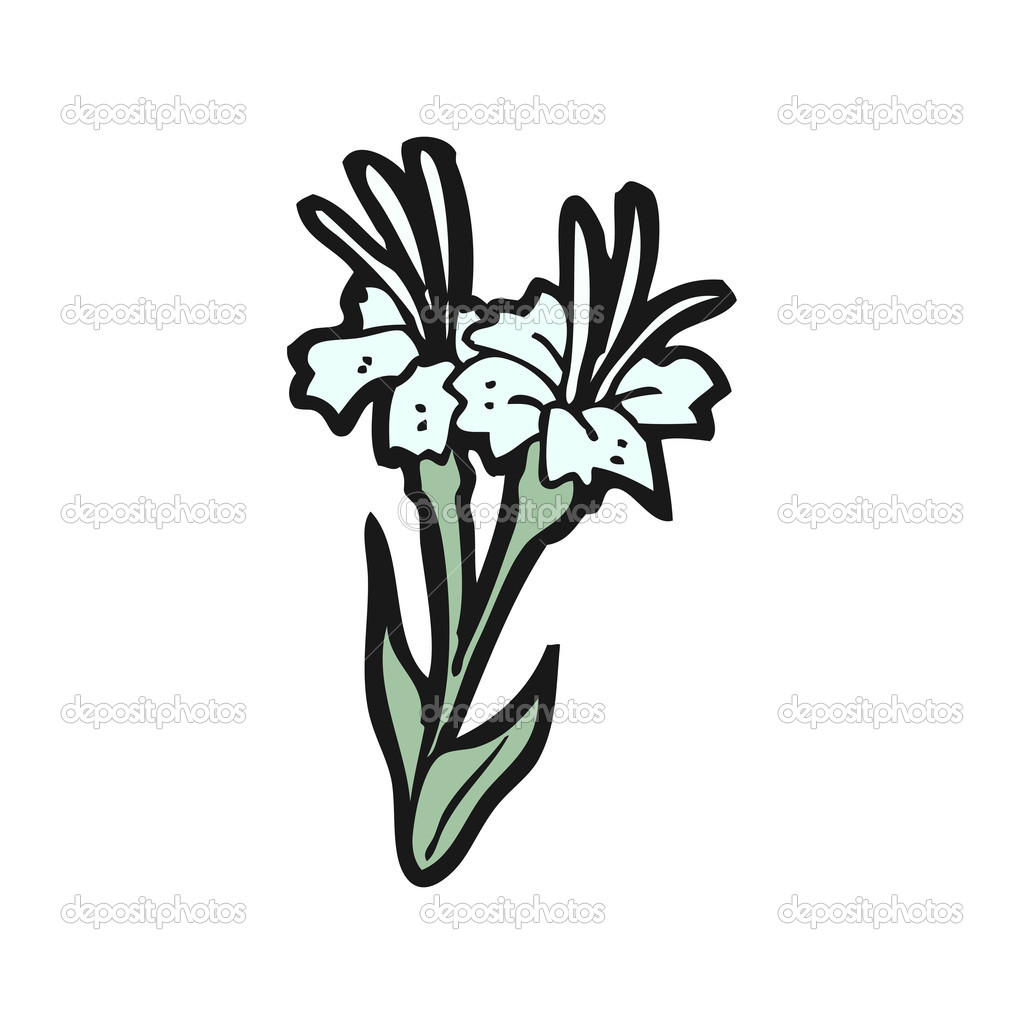 Lily cartoon stock vector lineartestpilot 14926259 lily cartoon stock vector izmirmasajfo