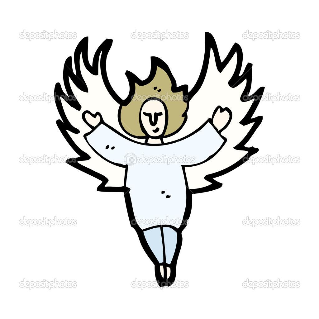 Angel Kresleny Stock Vektor C Lineartestpilot 16296011