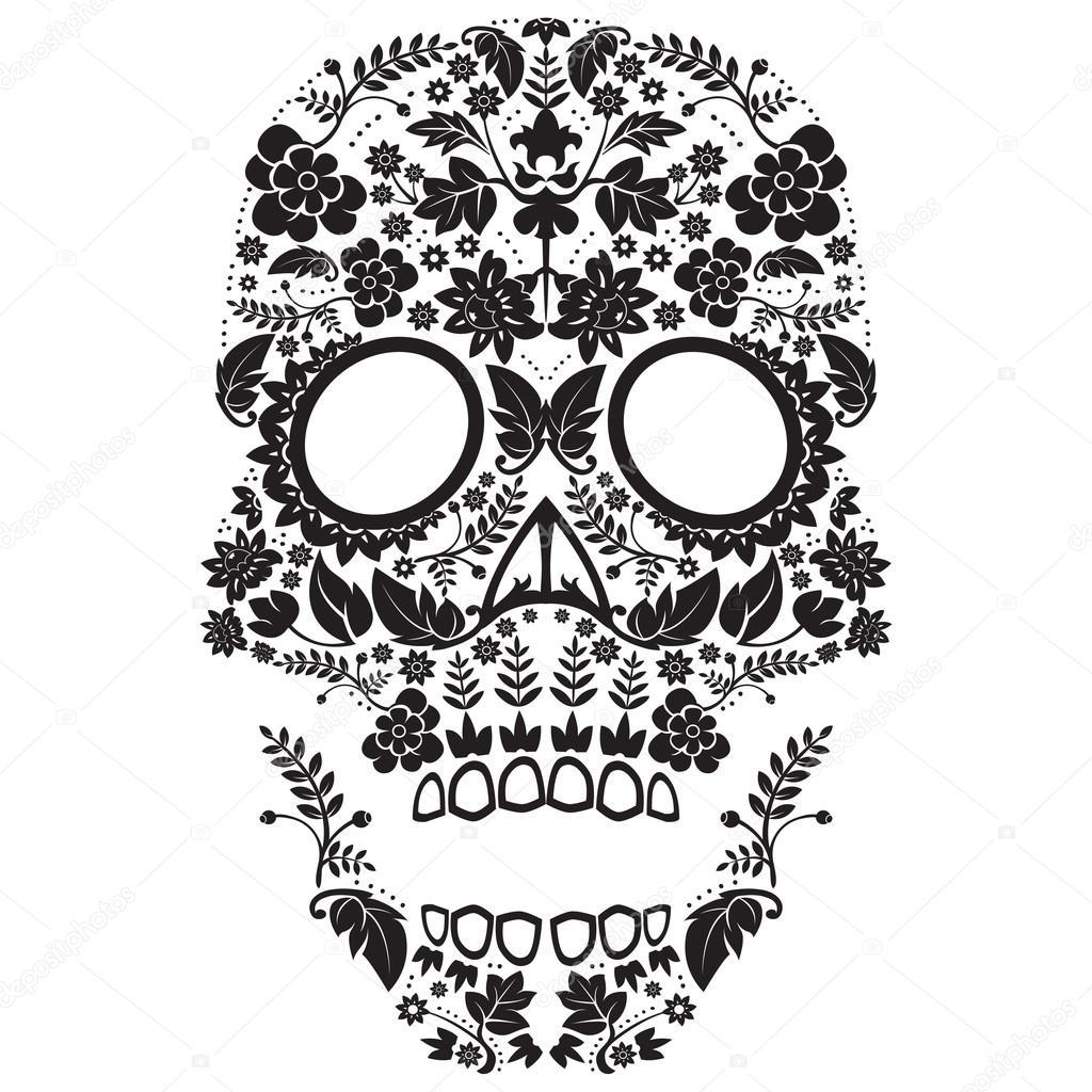 día del patrón del muerto — Vector de stock © lineartestpilot #16984035