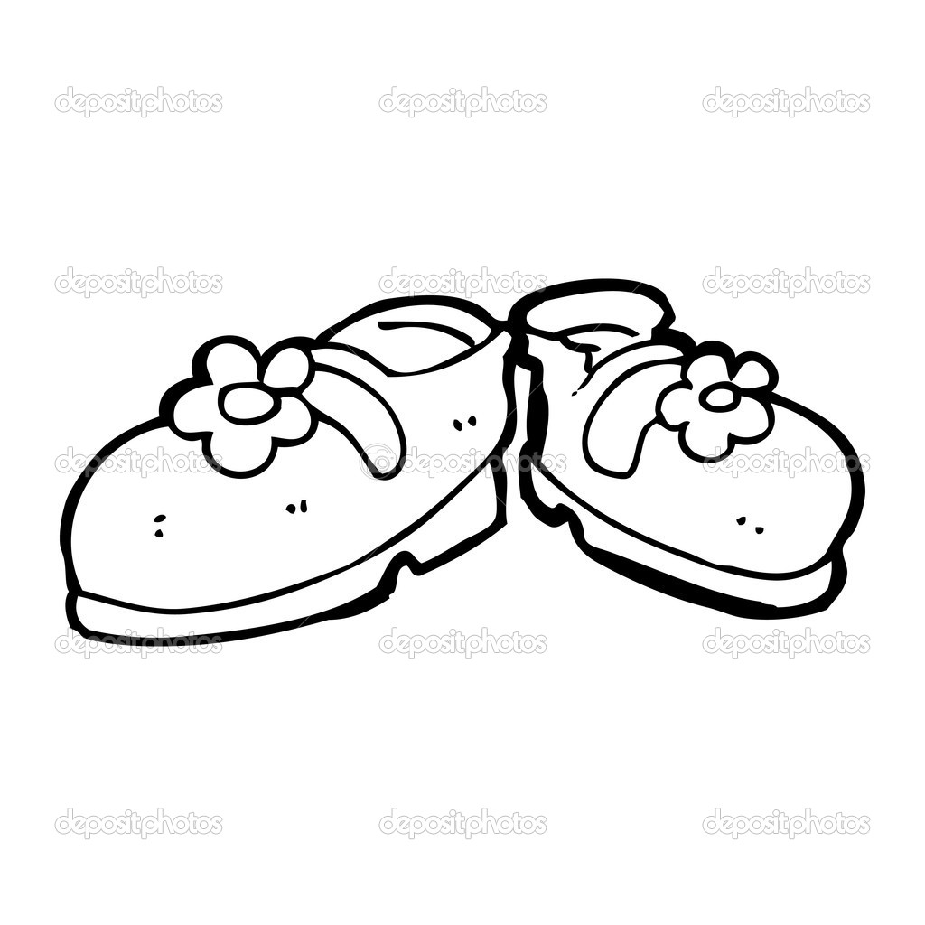 dessin chaussure fille