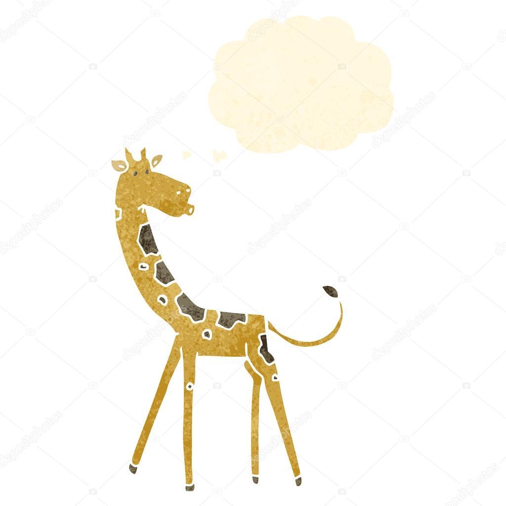 Giraffa cartone animato vettoriali stock - Cartone animato giraffe immagini ...