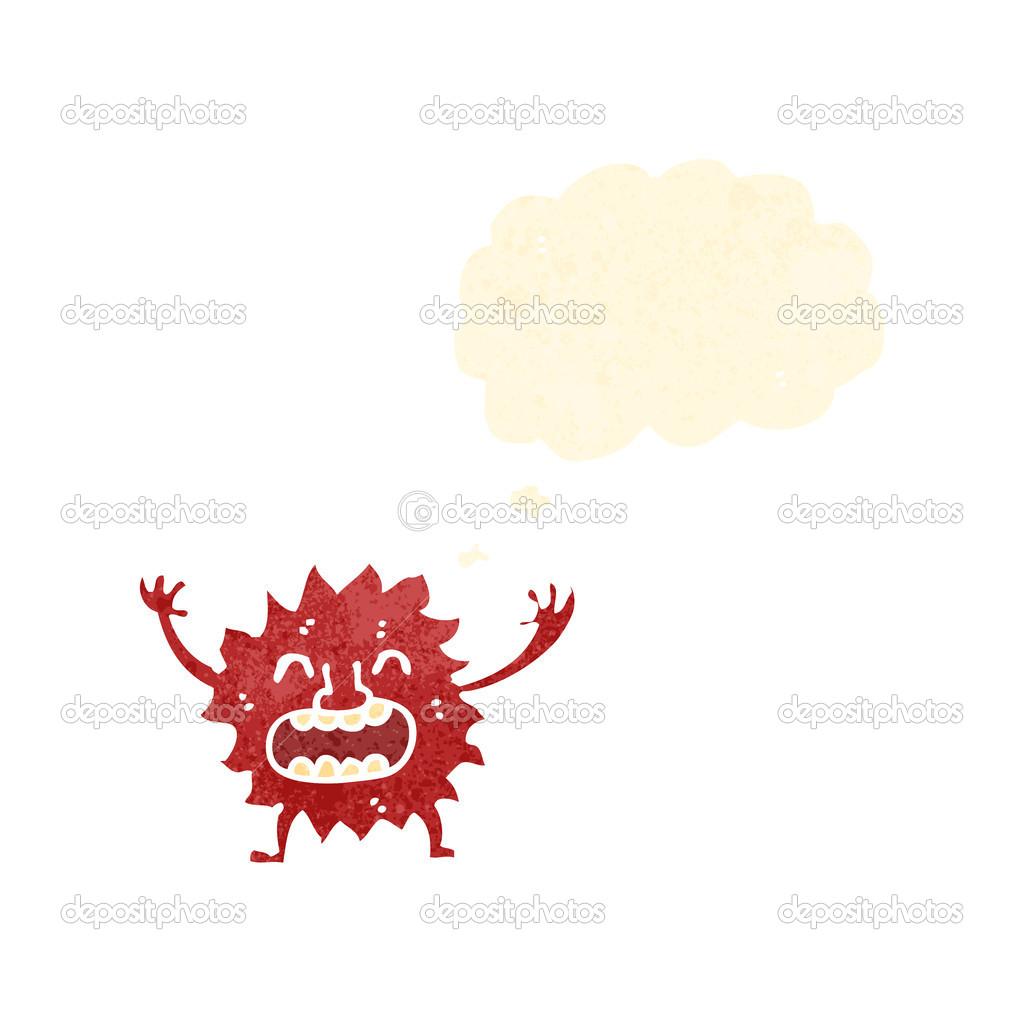Cartoon Little Fire Sprite Stock Vector Lineartestpilot 19406741