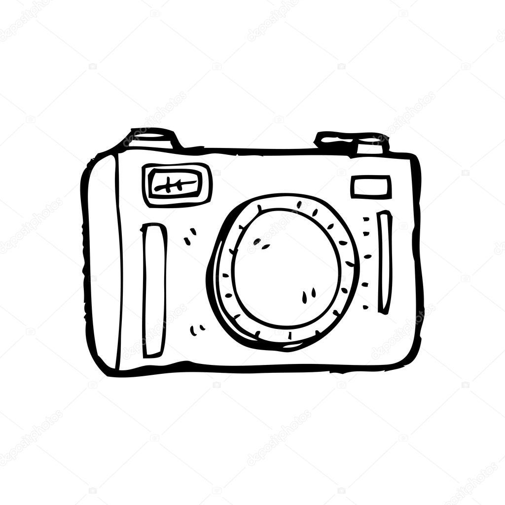 Super desenho de câmera — Vetor de Stock © lineartestpilot #19762905 MJ55