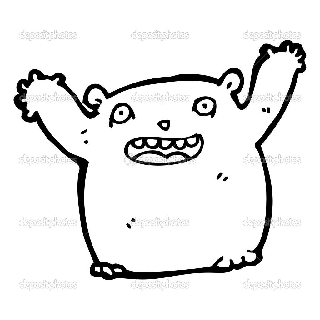 Velký tlustý tlustý péro
