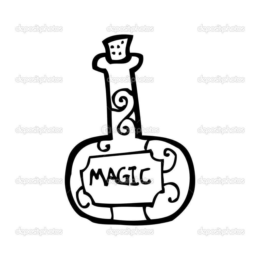 clipart potion magique