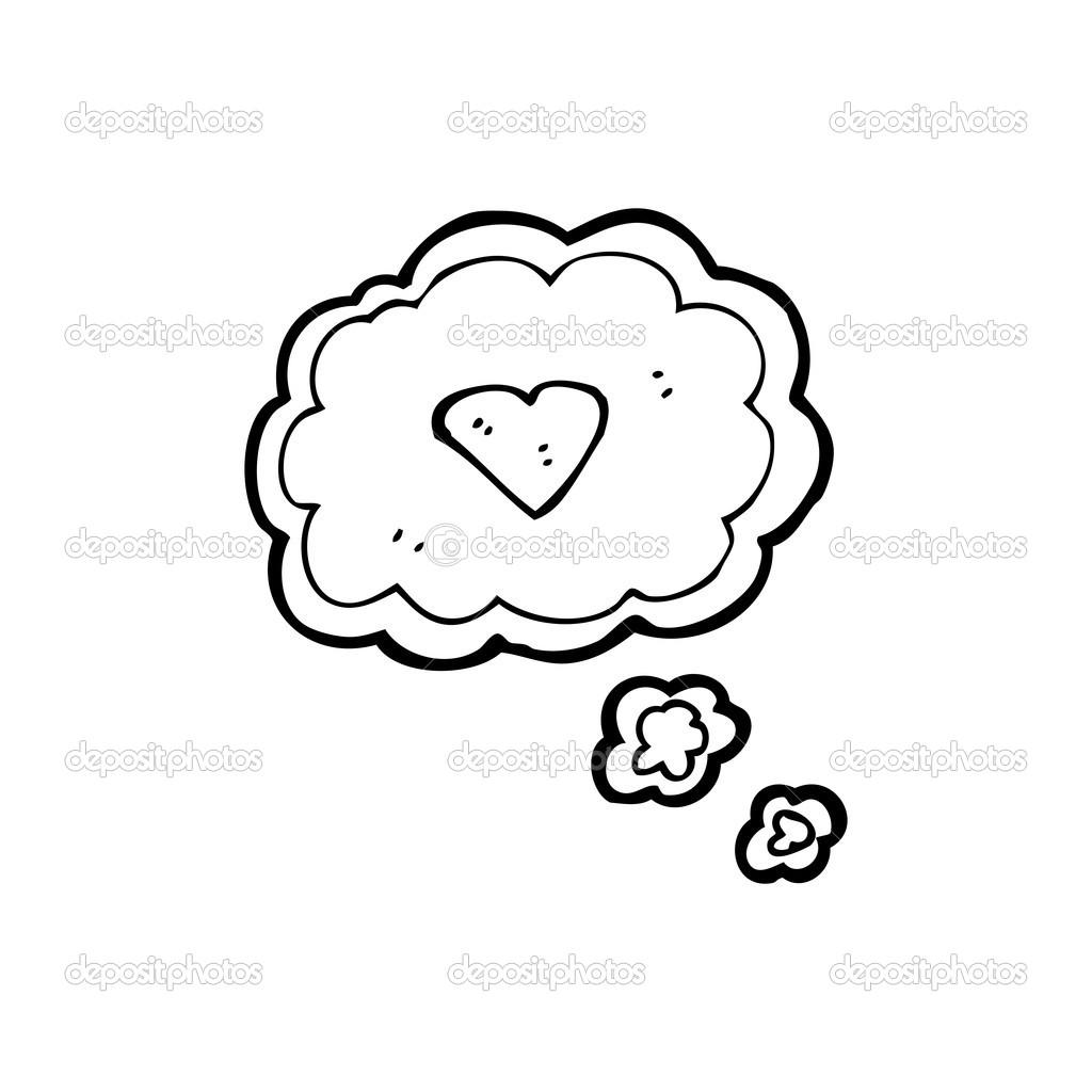 Dibujos Animados A Lapiz De Amor Pensamiento De Amor Dibujos