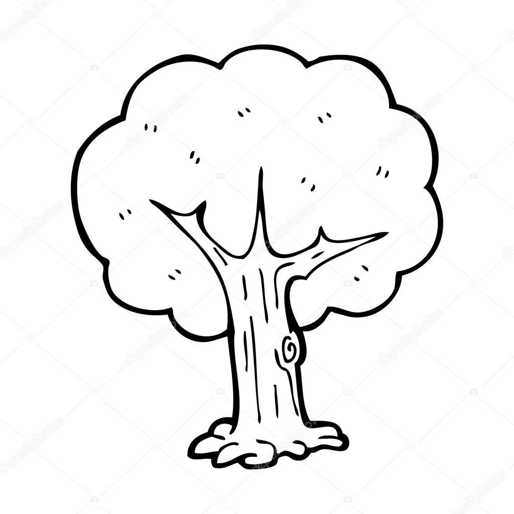Tree Cartoon Stock Vector C Lineartestpilot 20008169