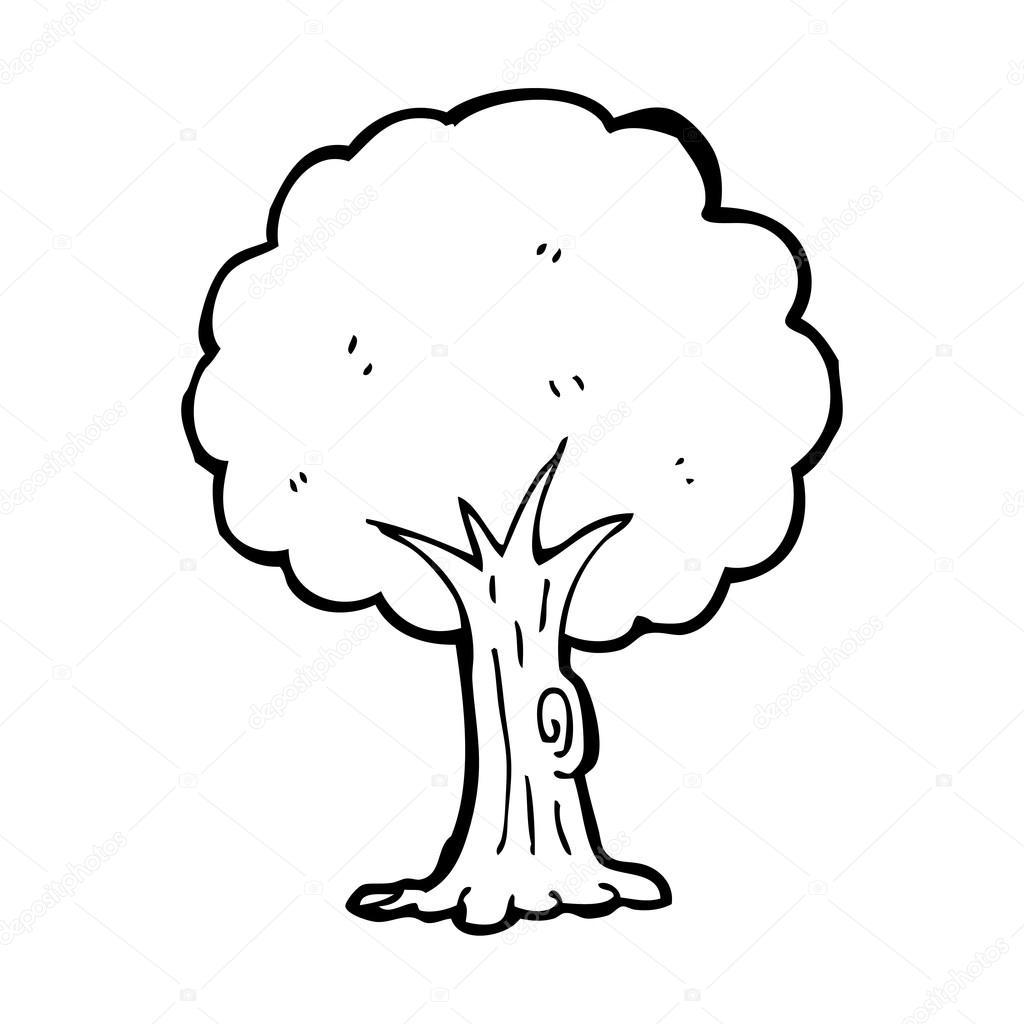 Tree Cartoon Stock Vector C Lineartestpilot 20077019
