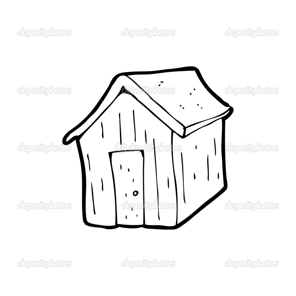 Shed Cartoon Stock Vector 169 Lineartestpilot 20079111