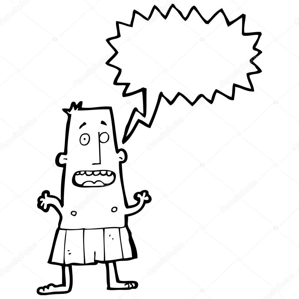 f1ea20ccd18 Άνθρωπος σε μποξεράκια — Διανυσματικό Αρχείο © lineartestpilot #20309455
