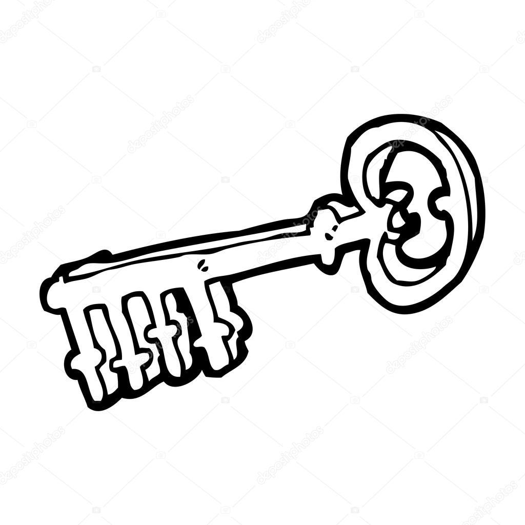 Vector Key Illustration: Stock Vector © Lineartestpilot #20414867