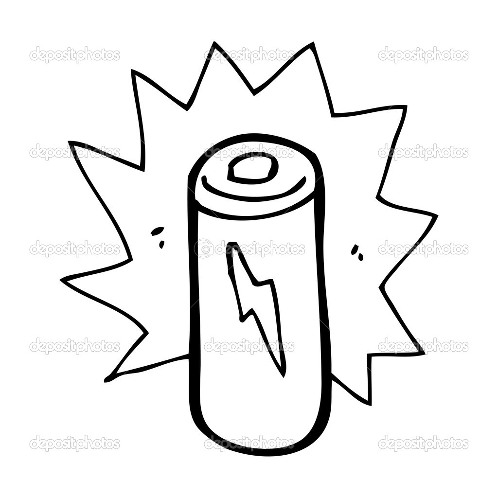 cartoon battery  u2014 stock vector  u00a9 lineartestpilot  20416139